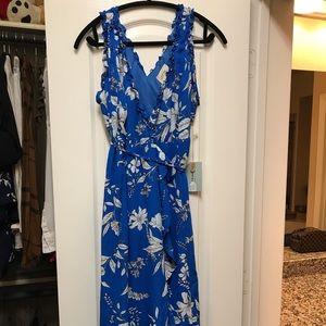 Going Coastal High Low Floral Maxi Dress